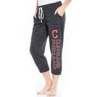 Women's Concepts Sport Cleveland Indians Ringer Capri Pants