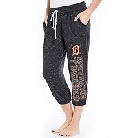 Women's Concepts Sport Detroit Tigers Ringer Capri Pants