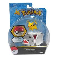 Pokémon Poké Throw 'N' Pop Poké Ball & Pikachu Set