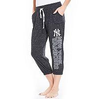 Women's Concepts Sport New York Yankees Ringer Capri Pants