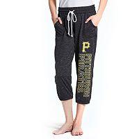 Women's Concepts Sport Pittsburgh Pirates Ringer Capri Pants