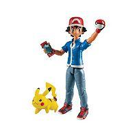 Pokemon Ash & Pikachu Action Figure Set