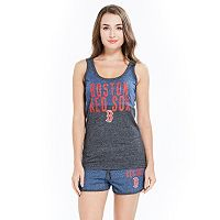 Women's Concepts Sport Boston Red Sox Tank Top & Shorts Set