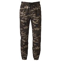 Men's Hollywood Jeans Camo Stretch Jogger Pants
