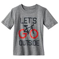 Toddler Boy Jumping Beans® Rolled Short Sleeve Slubbed Graphic Tee