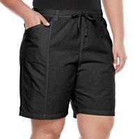 Plus Size Gloria Vanderbilt Cuffed Shorts