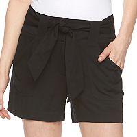 Women's Apt. 9® Black Soft Shorts
