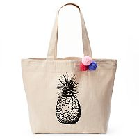 Tri-Coastal Design Pineapple Large Reusable Tote