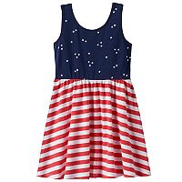 Toddler Girl Jumping Beans® Star & Stripe Print Dress