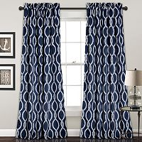 Half Moon 2-pack Rope Knot Curtain
