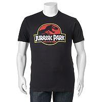 Big & Tall Fifth Sun Jurassic Park Logo Tee