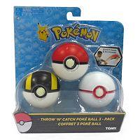 Pokémon Throw N Catch Poké Balls Set