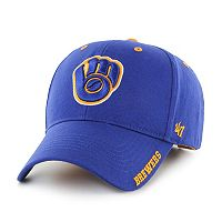 Adult '47 Brand Milwaukee Brewers Frost Adjustable Cap