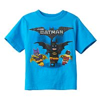 Boys 4-7 LEGO DC Comics Batman Movie Graphic Tee