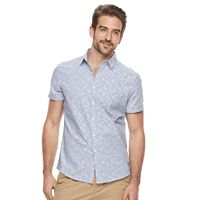 Men's Marc Anthony Slim-Fit Woven Button-Down Shirt