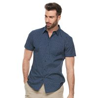 Men's Marc Anthony Slim-Fit Woven Button-Down Shirt