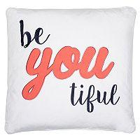 Levtex ''BeYoutiful'' Throw Pillow