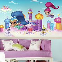 Shimmer & Shine Palace Mural Wall Decal 7-piece Set by Roommates