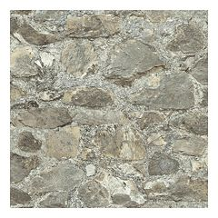 Roommates Faux Weathered Stone Peel & Stick Wallpaper Wall Decal  by