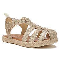 OshKosh B'gosh® Ashby Toddler Girls' Fisherman Sandals