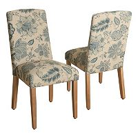 HomePop Lexie Curved Back Dining Chair 2-piece Set