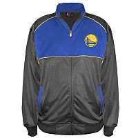 Boys 8-20 Majestic Golden State Warriors Tricot Track Jacket