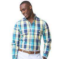 Men's Chaps Classic-Fit Poplin Button-Down Shirt