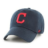 Adult '47 Brand Cleveland Indians Road Clean Up Adjustable Cap
