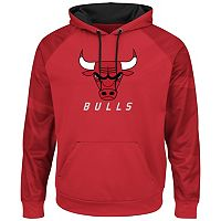 Boys 8-20 Majestic Chicago Bulls Pullover Fleece Hoodie