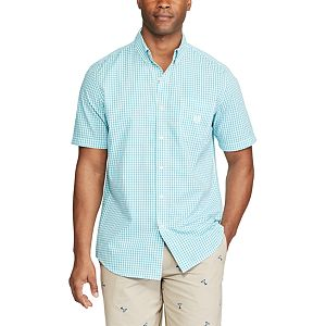 Men's Chaps Classic-Fit Tattersall Checked Easy-Care Button-Down Shirt