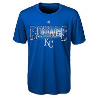 Boys 8-20 Majestic Kansas City Royals Light Up the Field Cool Base Tee