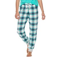 Juniors' SO® Pajamas: Naptime Squad Flannel Jogger Pants