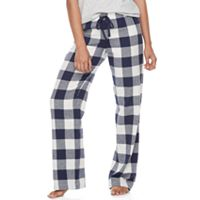 Juniors' SO® Pajamas: Naptime Squad Flannel Pants