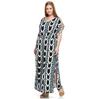 Plus Size Apt. 9® Strappy-Back Maxi Dress