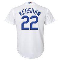 Boys 8-20 Majestic Los Angeles Dodgers Clayton Kershaw Replica Jersey