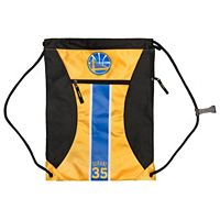 Forever Collectibles Golden State Warriors Kevin Durant Striped Drawstring Backpack