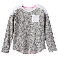 Girls 7-16 SO® Colorblock Perfectly Active Pocket Tee