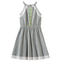 Girls 7-16 & Plus Size SO® Eyelet Crinkle Knit Dress