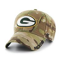 Adult '47 Brand Green Bay Packers Multicam Myers Adjustable Cap