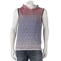 Men's Ocean Current Wyatt Sleeveless Hooodie