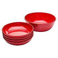 Zak Designs Confetti 5-pc. Pasta Bowl Set