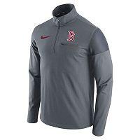 Men's Nike Boston Red Sox Elite Half-Zip Pullover