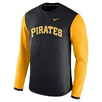 Men's Nike Pittsburgh Pirates Modern Waffle Fleece Sweatshirt