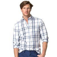Chaps Men's Big and Tall Easycare Twill Shirt