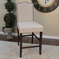 Romero Parsons Nailhead Counter Stool