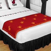 Sports Coverage Miami Heat Bed Runner