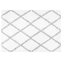 nuLOOM Easy Shag Shanna Lattice Rug