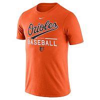 Men's Nike Baltimore Orioles Practice Ringspun Tee