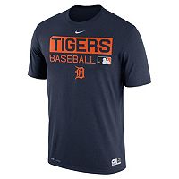 Men's Nike Detroit Tigers AC Team Issue Legend Dri-FIT Lightweight Tee