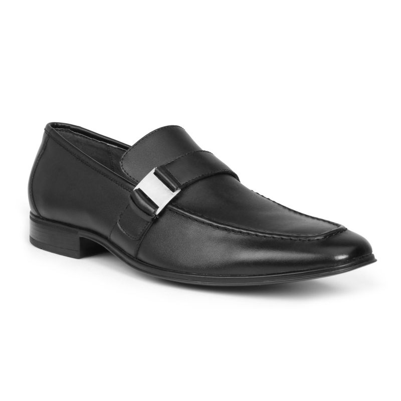 Giorgio Brutini Santos Men's Slip-On Dress Shoes, Size: medium (8), Black thumbnail